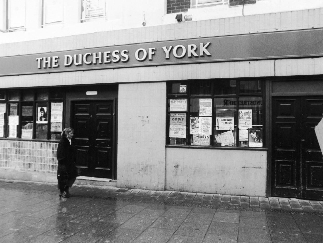 Duchess of York, Vicar Lane