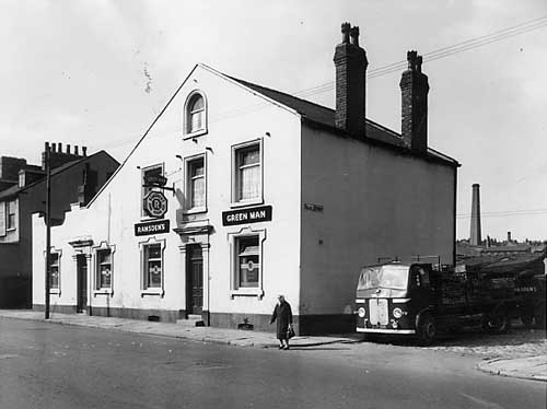 The Green Man, Dewsbury Road